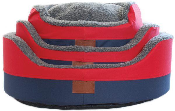 All Terrain Round Basket Dog Bed