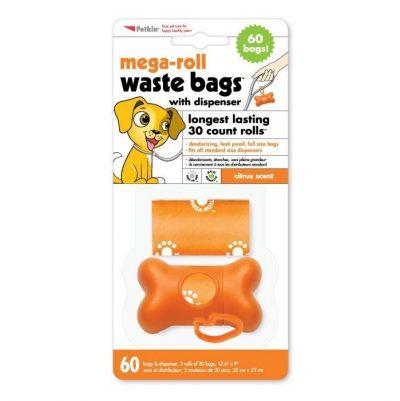 Petkin Mega Rolls Waste Bags