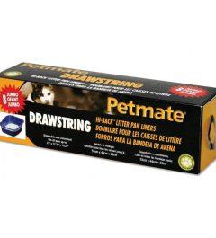 Petmate Liner Drawstring 8Pk Jumbo