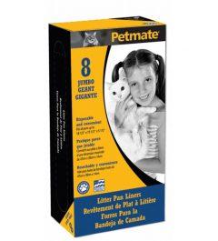 Petmate Litter Pan Liners 8Pk Jumbo